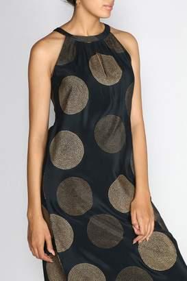 Anupamaa Black Halter Dress