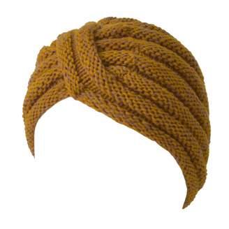 2da49e2d5dd Charm Knit Womens Turban Beanie - Warm Winter Hat Head Wrap Hippie Boho  Chic Retro Fashion