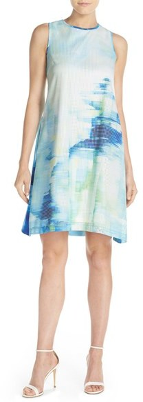 Women's Julia Jordan Print Woven Swing Dress 3