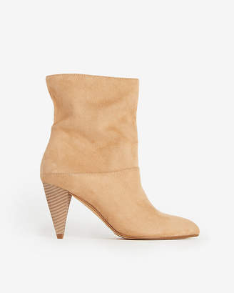 Express Slouch Ankle Booties