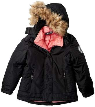Reebok System Jacket with Faux Fur (Big Girls)