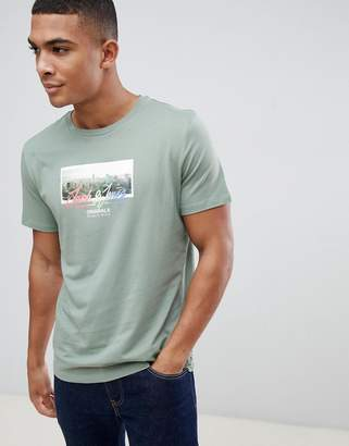 Jack and Jones Polaroid Print T-Shirt