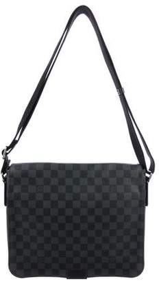 Louis Vuitton Damier Graphite District MM