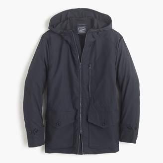 J.Crew Cotton-nylon x250 hooded jacket