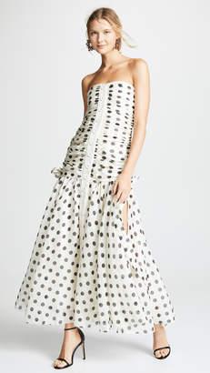 Zimmermann Corsage Ruche Dress
