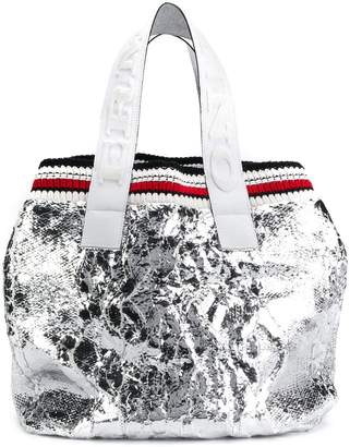 Ermanno Scervino metallic tote bag