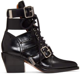 Chloé Black Medium Rylee Boots