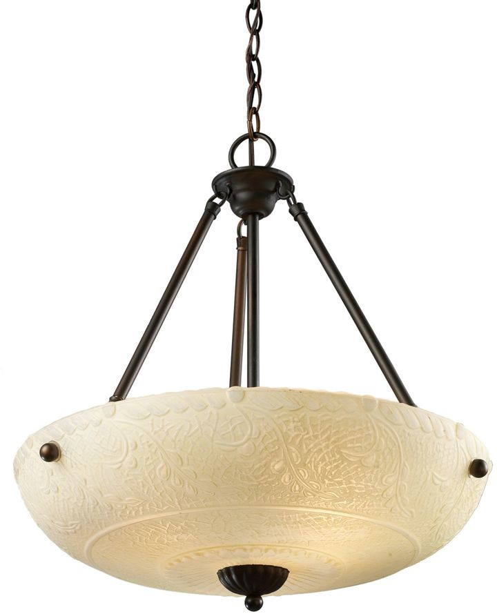 Bed Bath & Beyond ELK Lighting Restoration 4-Light Pendant Fixture in Aged Bronze