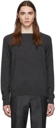 Burberry Grey Logo Sweater