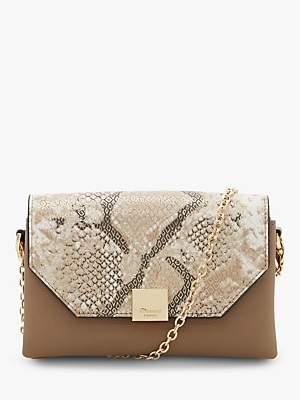 Dune Esterr Chain Strap Handbag, Grey/Multi