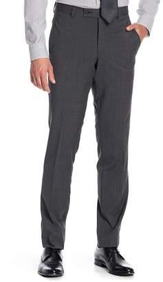 Ted Baker Jarrett Flat Front Wool Trouser