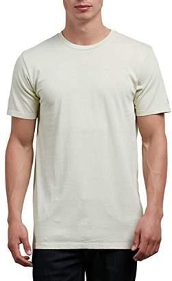Volcom Men's Pale Wash Solid Short Sleeve T-Shirt