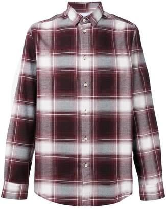Natural Selection Slate checked shirt