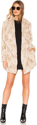 BB Dakota JACK by Warm Thoughts Faux Fur Jacket