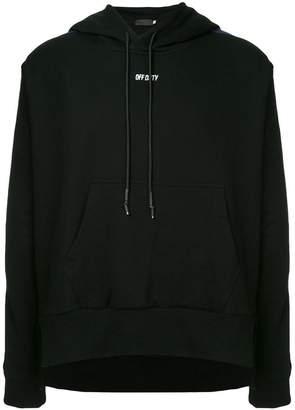 Off Duty side stripe hoodie