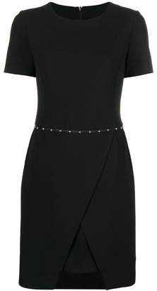 Emporio Armani embellished dress