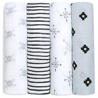 Lovestruck Aden and Anais Swaddles, Pack of 4