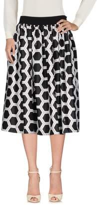 Huit .8! POINT 3/4 length skirts