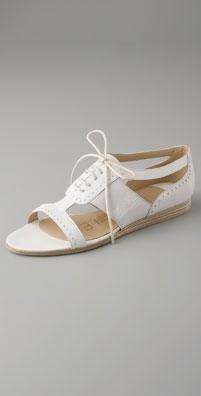 LD Tuttle The Charlatan Oxford Flat Sandal