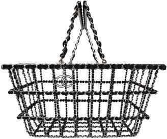 Chanel Silver Metal Handbag