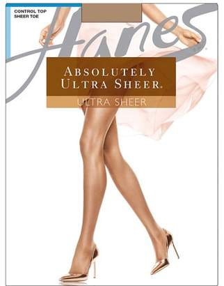 9cd820938 Hanes Absolutely Ultra Sheer Control Top Sheer Toe Pantyhose