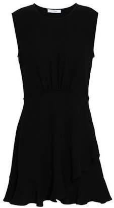 IRO Ruffled Crepe Mini Dress