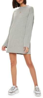 Missguided Long-Sleeve T-Shirt Dress