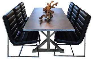 Ebern Designs Rhead 7 Piece Dining Set Ebern Designs