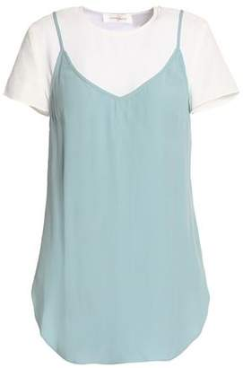 Zimmermann Layered Crepe De Chine Top