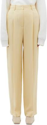 Theory Pleated wide leg pants