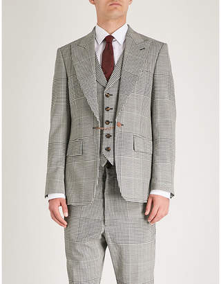 Vivienne Westwood Houndstooth regular-fit wool jacket