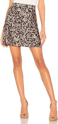 Free People Phoebe Printed Mini Skirt