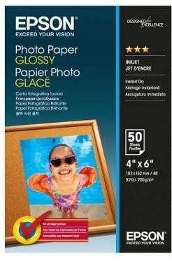 Epson 10 X 15 Cm) Glossy Photo Paper 200G/m2 (50 Sheets) White