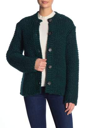 Paul & Joe Sister Front Button Knit Cardigan
