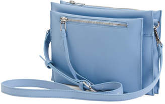Maisie Triple Compartment Leather Crossbody