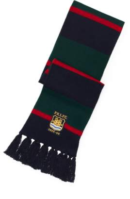 Ralph Lauren Regimental-Stripe Wool Scarf