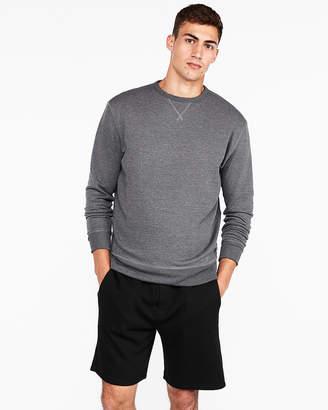 Express Exp Weekend Vintage Fleece Drop Shoulder Sweatshirt