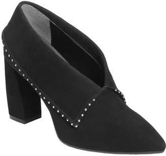 Aerosoles High Heel Leather Booties - Wordsmith