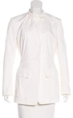Donna Karan Collared Long Sleeve Blazer