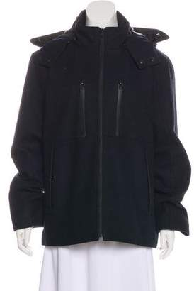 Tahari Wool-Blend Zip-Up Jacket