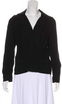 Prada Woven Snap Jacket