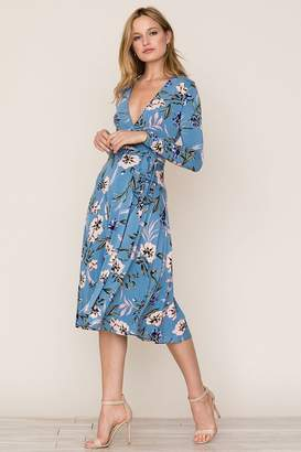Yumi Kim Around Town Midi Jersey Dress