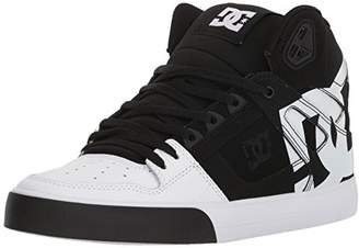 DC Men's Pure HIGH-TOP WC SP Skate Shoe