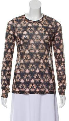 Prabal Gurung Printed Knit Top w/ Tags