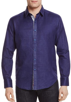 Robert Graham Amin Slim Fit Button-Down Shirt $228 thestylecure.com