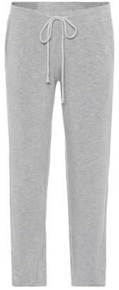 Velvet Thea cotton-blend track pants