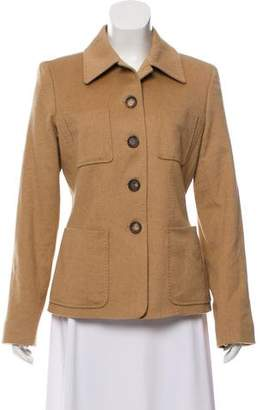 Celine Baby Camel Hair Structured Jacket