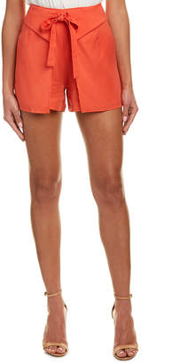 Do & Be DO+BE Do+Be Overlapping Tie-Front Short