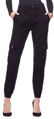 Good American Slim Cargo Pants