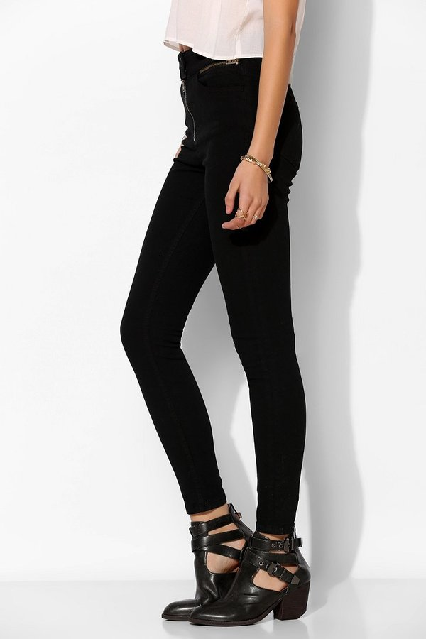 BDG Twig High-Rise Zip Jean - Black